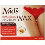 nads brazilian bikini wax kit