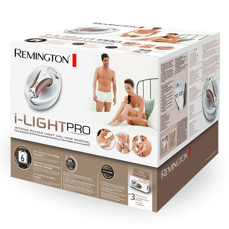 Remington iLight Pro unboxed