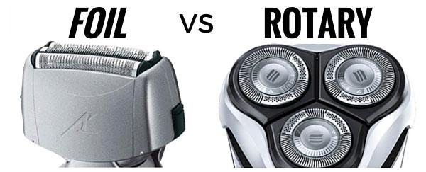 Foil Shaver vs. Rotary Shaver