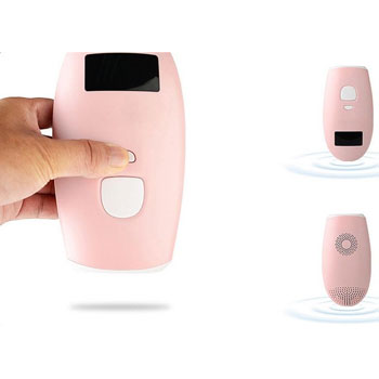 Veezy Ultra light Face and Body IPL Laser Hair Removal Device System